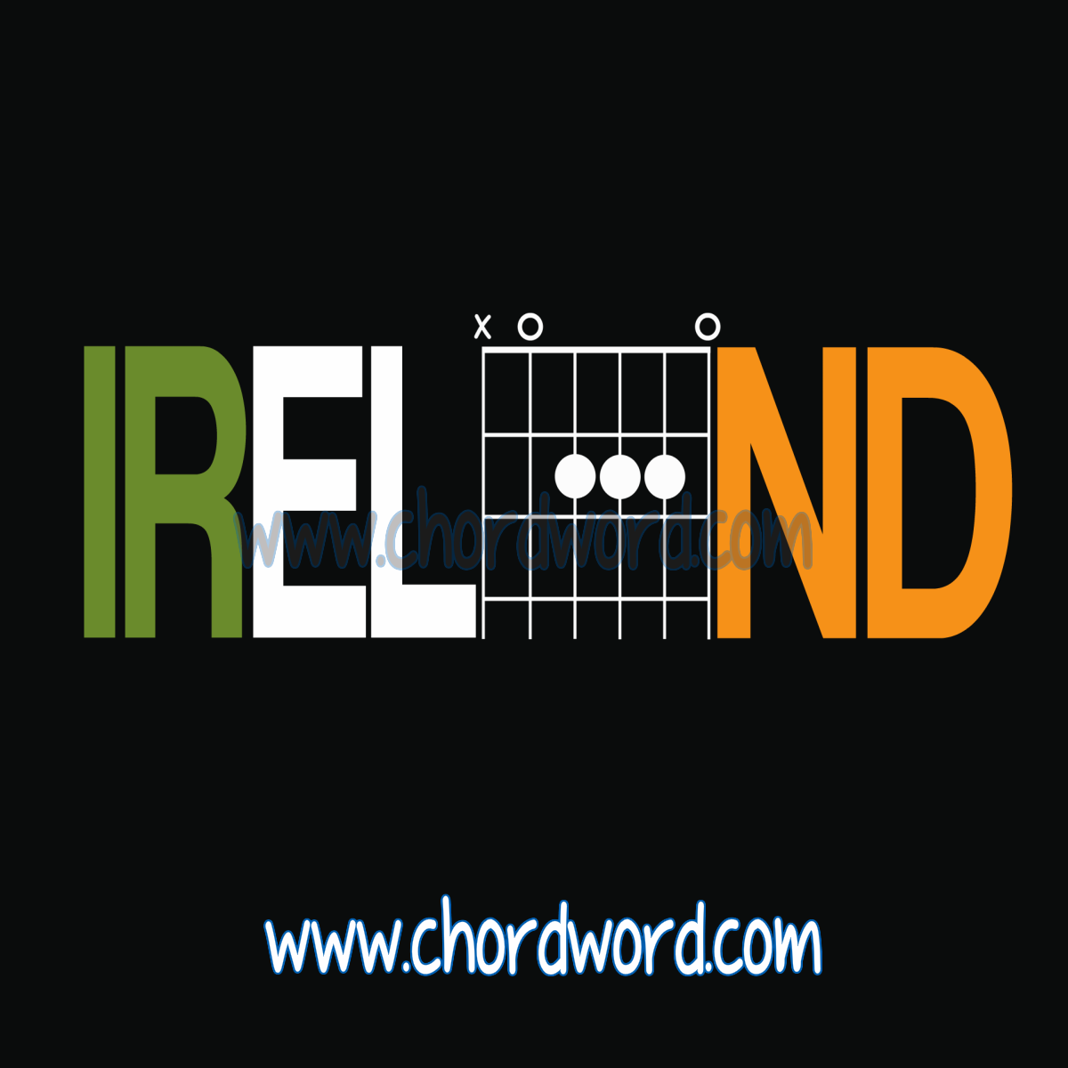 Six Nations And Guitar Chords The A Major Chord In The Middle Of A